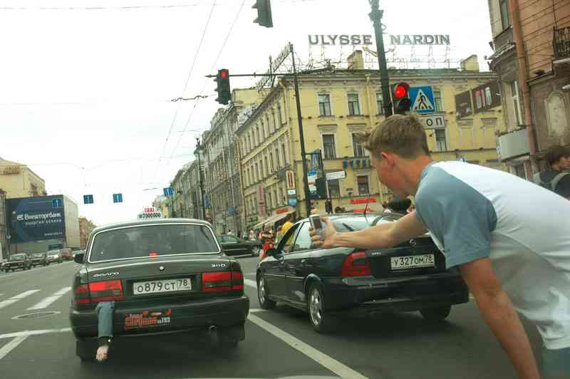 Mafia hits Russian streets