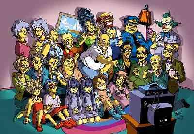 Simpson manga