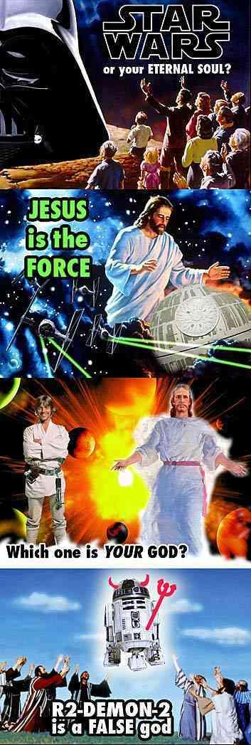 Star wars es el diablo