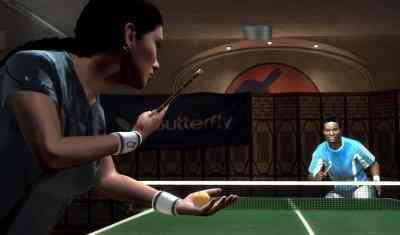 Tennis table wii
