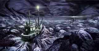 barco de comida