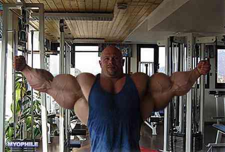 Demasiado musculado