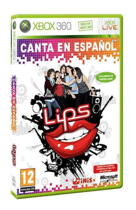 Caratula Lips Canta en Español 3D - Juego