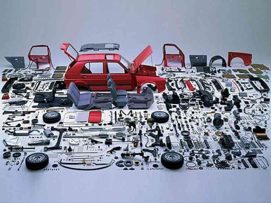 partes de un coche