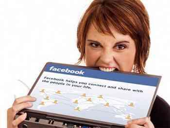 facebook estres