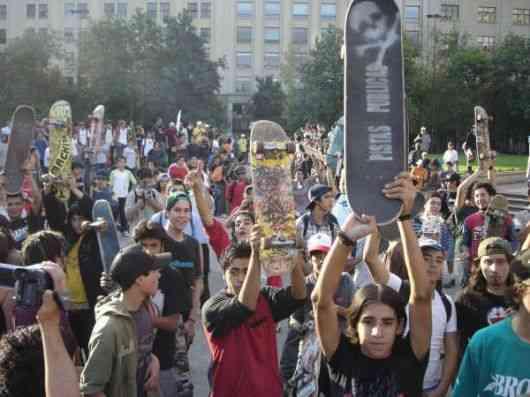 jovenes protesta