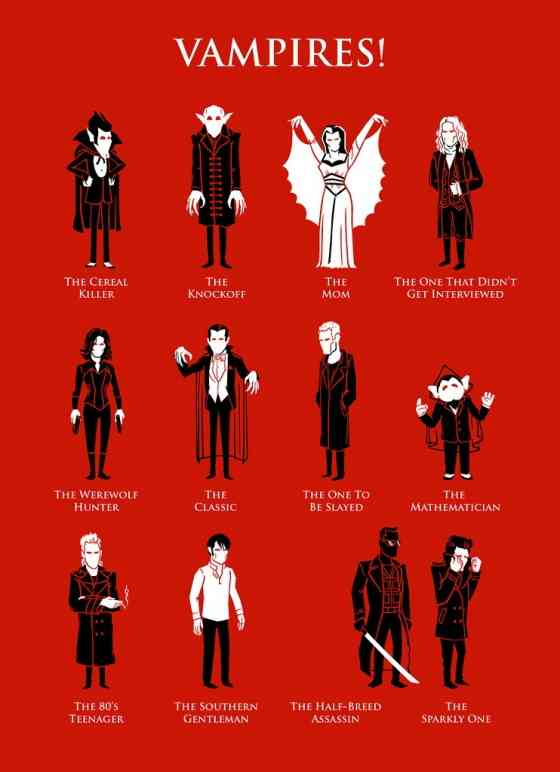 small vampire illustration