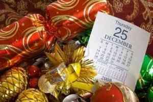 3255094 adornos de navidad con el calendario que muestra la p gina 25 de diciembre