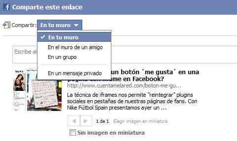 boton compartir facebook