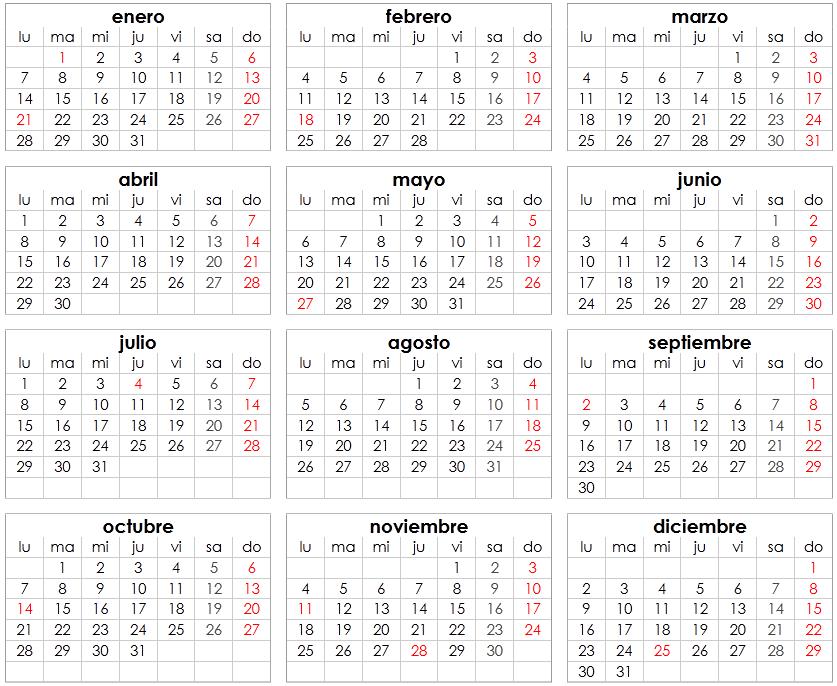 festividades 2013