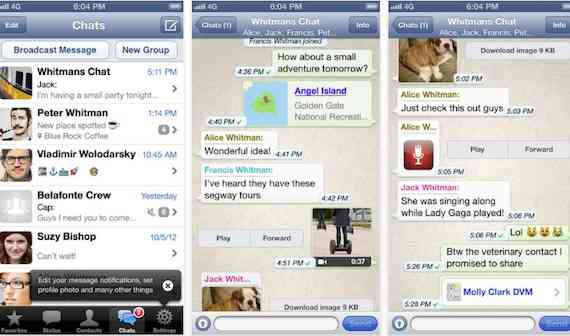 whatsapp ios6