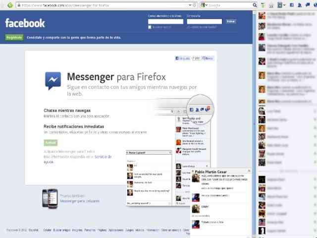 firefox chat facebook
