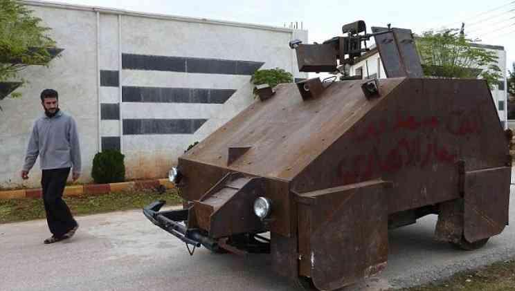 tanque de guerra siria