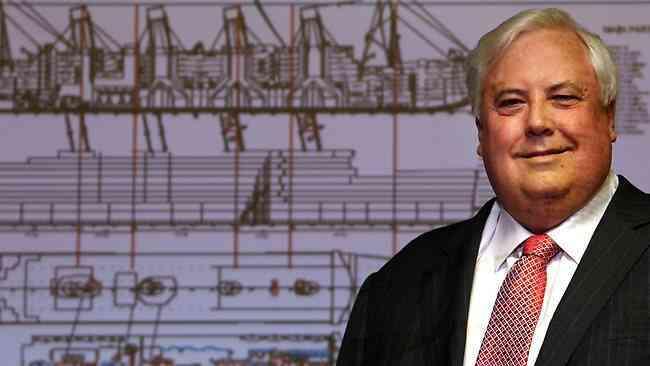 Clive Palmer Titanic II