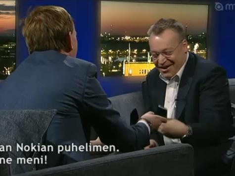 Stephen Elop iphone