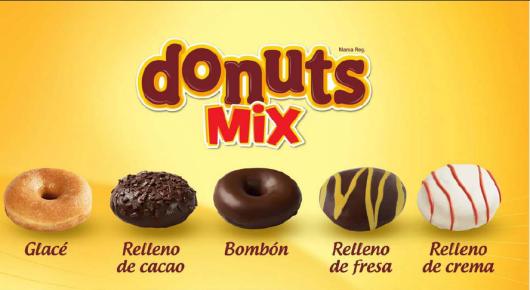 donuts mix panrico