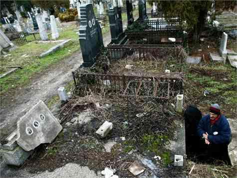 vagabundo cementerio