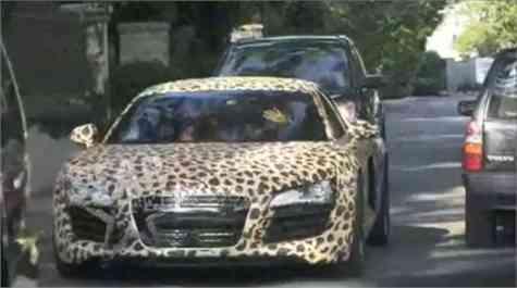 Audi Animal Print Justin Bieber