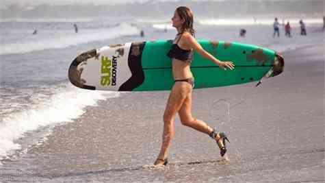 surf tacones