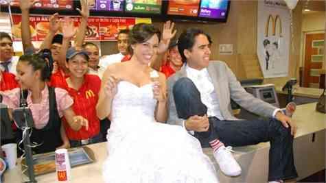 Casamiento McDonald´s