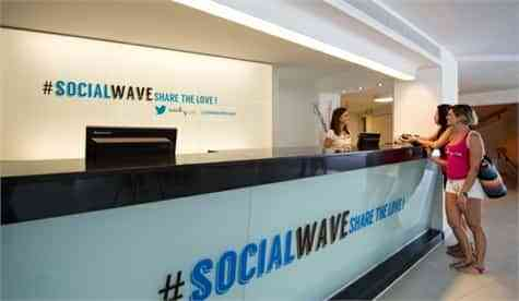 Wave House Twitter