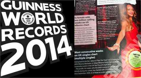 Records Guinness 2014