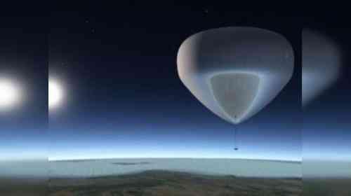 Turismo espacial globo