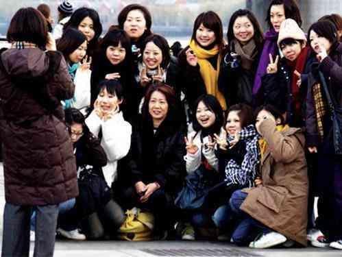 China turistas
