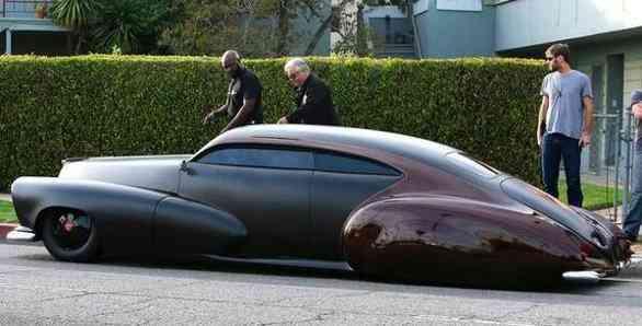 Bentley GT Mickey Rourke