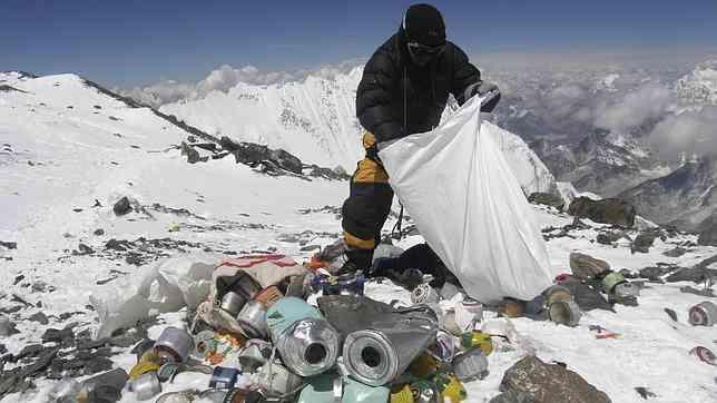 Everest basura