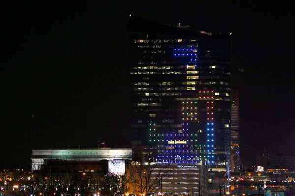 Tetris más grande del mundo