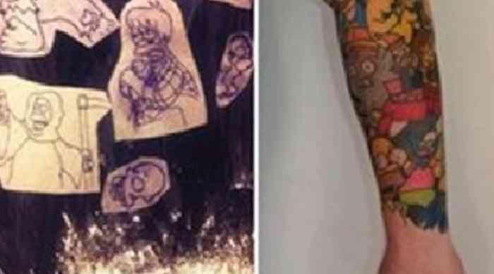 tatuajes-homero-simpsons